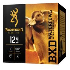 "Browning Ammo B193411242 BXD Extra Distance 12 Ga 3.5"" 1-1/2 oz 2 Shot 25 Bx/ 10 Cs"