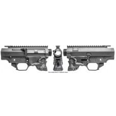 Spikes STSBX20 Jack-10 308 Billet AR Platform 308/6.5 Creedmoor/338 Federal Black Hardcoat Anodized