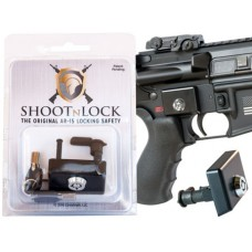 Shoot N Lock 00020 AR-15 Locking Safety Steel
