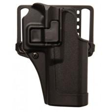 Blackhawk 410565BKR Serpa CQC Concealment RH Matte Finish Springfield XD-S 3.3 Polymer Black