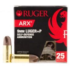 Ruger 9ARXRUG25 ARX 9mm Luger 80 GR ARX 25 Bx/ 10 Cs