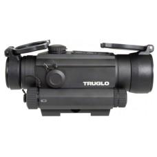 Truglo TG8130RN Tru-Tec 1x 30mm Obj Unlimited Eye Relief 2 MOA Black