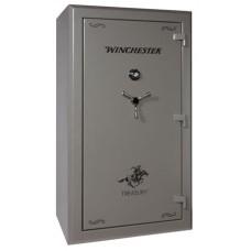 "Winchester Safes TR72404810M Treasury 48 Gun Safe 72"" H x 40"" W x 29"" D Mechanical Lock Gunmetal Gray"