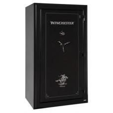 "Winchester Safes TR7240487M Treasury 48 Gun Safe 72"" H x 40"" W x 29"" D Mechanical Lock Black"