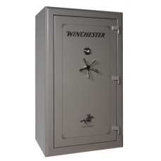 """Winchester Safes S72425110E Silverado 51 Gun Safe 72"""" H x 42"""" W x 29"""" D (Exterior) Electronic Lock Gunmetal Gray"""