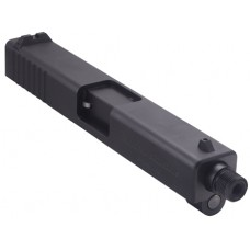"Tactical Solutions TSG221722TE TSG-22 For Glock 17/22/34/35/37 Threaded Barrel 4.8"" Blk Steel"