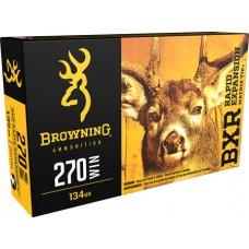 Browning Ammo B192102701 BXR Rapid Expansion 270 Win 134 GR Matrix Tip 20 Bx/ 10 Cs