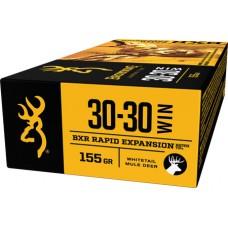 Browning Ammo B192130301 BXR Rapid Expansion 30-30 Win 155 GR Matrix Tip 20 Bx/ 10 Cs