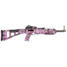 "Hi-Point 3895TSPI 3895TS Carbine 380 ACP Semi-Automatic 380 Automatic Colt Pistol (ACP) 16.5"" 10+1 Polymer Pink Camo Stock Pink Camo/Black"
