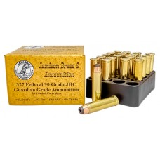Jamison 327FED90GRD Guardian Grade 327 Federal Magnum 90 GR Jacketed Hollow Core 20 Bx/ 10 Cs
