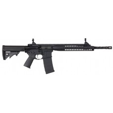 "LWRC ICA5R5B16 Individual Carbine A5 Semi-Automatic 223 Remington/5.56 NATO 16.1"" 30+1 Adjustable Black Stk Black"