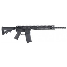 "LWRC ICDIR5B16 LWRCI Direct Impingement Semi-Automatic 223 Remington/5.56 NATO 16.1"" 30+1 Adjustable Black Stk Black"