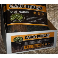 Camo Unlimited 9540 Camo Burlap