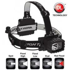 Nightstick NSP4612B Dual Light Multi Function Headlamp 100/90/20/18 Lumens AA (3) Black