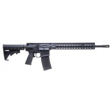 "Troy Ind  CBQ SPC A3 Semi-Automatic 223 Remington/5.56 NATO 16"" 30+1 6-Position Black Stk Black Hard Coat Anodized"