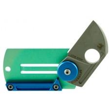 "Spyderco  Dog Tag Folder 1.23"" CPM-S30V Sheepsfoot Titanium"
