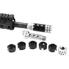UM Tactical RAGE R.A.G.E TCS Compensator Rage 223 Remington/5.56 NATO Metal AR