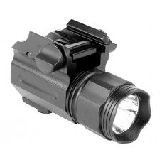 Aim Sports  Subcompact Flashlight 220 Lumens  Black