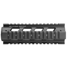 Aim Sports MT041 Stanag AR-15/M16/M4 Aluminum/Aircraft Grade Black/Anodized