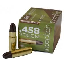 PolyCase Ammo 458ARXBR Inceptor Preferred Hunting 458 SOCOM 200 GR ARX 20 Bx/ 10 Cs