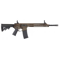 "LWRC ICA5RPBC14P Individual Carbine A5 Semi-Automatic 223 Remington/5.56 NATO 14.7"" 30+1 Adjustable Black Stk Patriot Brown"