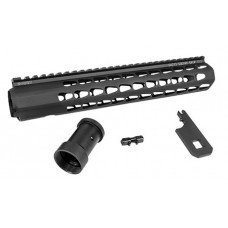 Advanced Armament 64273 Squaredrop AR-15 Aluminum Black/Anodized