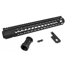 Advanced Armament 64274 Squaredrop AR-15 Aluminum Black/Anodized