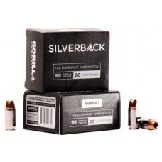 GORILLA AMMUNITION SB45230SD Silverback 45 ACP 230 GR Solid Copper Hollow Point 20 Bx/ 10 Cs
