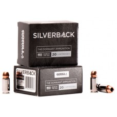 GORILLA AMMUNITION SB45230FBI Silverback 45 ACP 230 GR Solid Copper Hollow Point 20 Bx/ 10 Cs