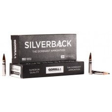 GORILLA AMMUNITION SB30085SD Silverback 300 AAC Blackout/Whisper (7.62X35mm) 85 GR Solid Copper 20 Bx/ 10 Cs