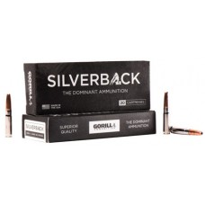 GORILLA AMMUNITION SB300205SD Sliverback 300 AAC Blackout/Whisper (7.62X35mm) 205 GR Solid Copper 20 Bx/ 10 Cs