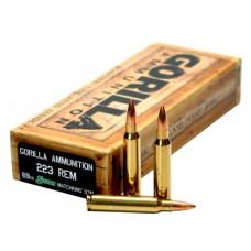 GORILLA AMMUNITION GA22369SMK Gorilla Match 223 Remington/5.56 NATO 69 GR Sierra MatchKing 20 Bx/ 10 Cs