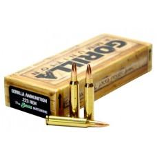 GORILLA AMMUNITION GA22377SMK Gorilla Match 223 Remington/5.56 NATO 77 GR Sierra MatchKing 20 Bx/ 10 Cs