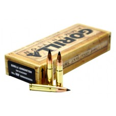 GORILLA AMMUNITION GA300110NV Gorilla Match 300 AAC Blackout/Whisper (7.62X35mm) 110 GR Flat Base Tip 20 Bx/ 10 Cs
