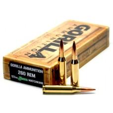 Gorilla GA260123SMK Gorilla Match 260 Remington 123 GR Sierra MatchKing 20 Bx/ 10 Cs