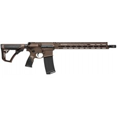 "Daniel Defense 02338047 DDM4 V7 Semi-Automatic 223 Rem/5.56 NATO 16"" 30+1 6-Position Brown Stk Brown Cerakote"