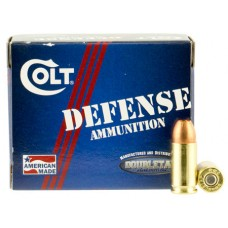 Colt Ammo 9M124CT Defense 9mm Luger 124 GR JHP 20 Bx/ 50 Cs
