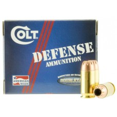 Colt Ammo 45A230CT Defense 45 ACP 230 GR JHP 20 Bx/ 50 Cs