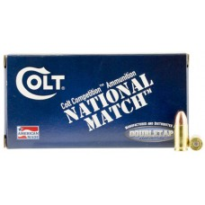 Colt Ammo 9M124FMJCT National Match 9mm Luger 124 GR Full Metal Jacket 50 Bx/ 20 Cs
