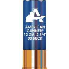 """Hornady 86274 American Gunner 12 Ga 2.75"""" Buckshot 1 oz 00 Buck 10 Bx/ 10 Cs"""