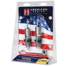 Hornady 486228 American 2-Die Set 223 Remington