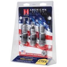 Hornady 486515 American 3-Die Set 9mm Luger