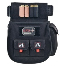 G*Outdoors 1094CSP Deluxe Shell Pouch Black 600D Polyester
