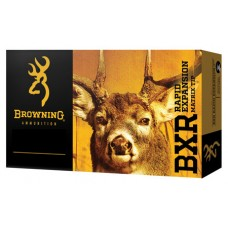Browning Ammo B192100071 BXR Rapid Expansion 7mm Rem Mag 144 GR Matrix Tip 20 Bx/ 10 Cs