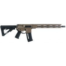 "Diamondback DB15E300FDE DB15 300 BO Keymod Semi-Automatic 300 AAC Blackout/Whisper (7.62x35mm) 16"" 30+1 Magpul CTR FDE Stk Black Hard Coat Anodized"