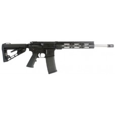 "Diamondback DB15CMLXB DB15 223 M-Loc Rail Semi-Automatic 223 Remington/5.56 NATO 16"" 30+1 ATI Strikeforce/Collapsible Black Stk Black Hard Coat Anodized"