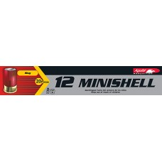 "Aguila 1C128974 Minishell 12 Gauge 1.75"" 5/8 oz  Shot 20 Bx/ 25 Cs"