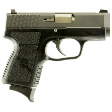 "Kahr Arms CM9093TU3 CM9 Double 9mm 3.1"" 6+1 3-Dot Black Polymer Grip/Frame Tungsten Gray Cerakote"