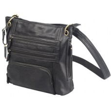 BDOG BDP038 CROSS BODY PURSE HLSTR BLK