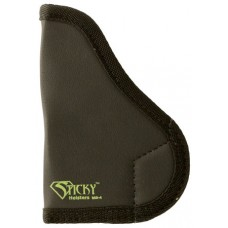 Sticky Holsters SM-1 NAA Black Widow Small Latex Free Synthetic Rubber Black w/Green Logo